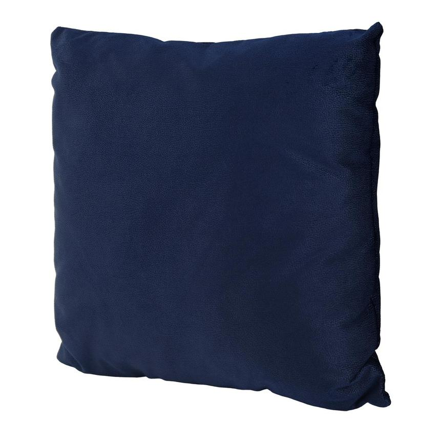 Okru Dark Blue Accent Pillow  alternate image, 2 of 3 images.