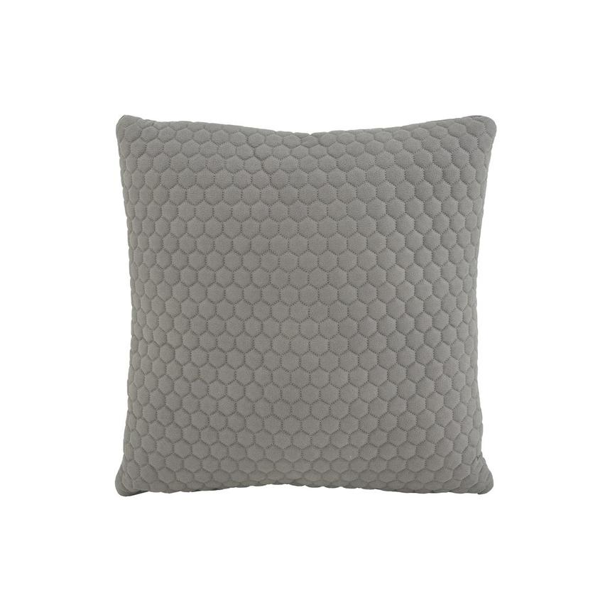 Okru Light Gray Accent Pillow  main image, 1 of 3 images.