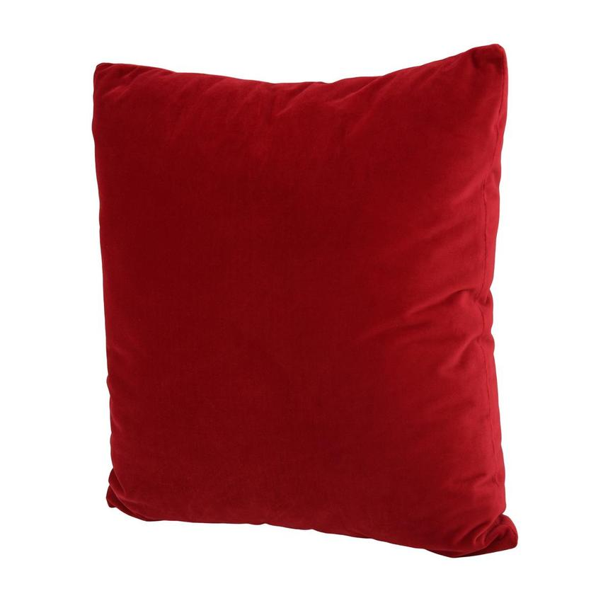 Okru Red Accent Pillow  alternate image, 2 of 3 images.
