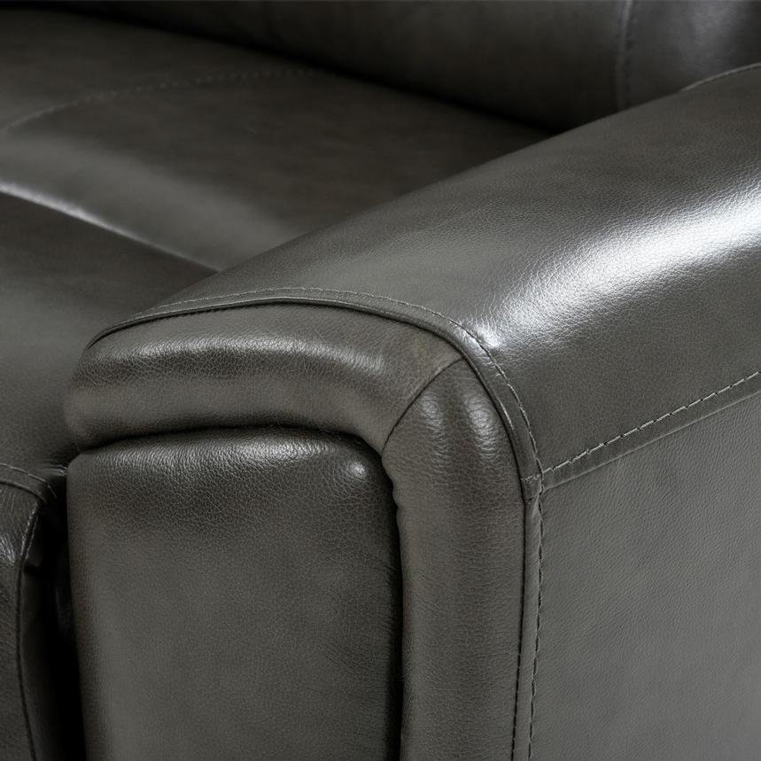 London Home Theater Leather Seating  alternate image, 7 of 11 images.