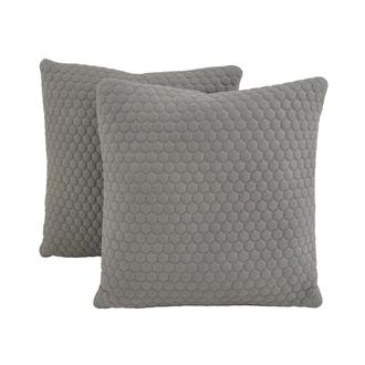 Okru II Light Gray Two Accent Pillows
