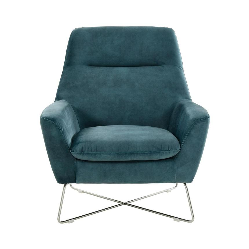 Grigio Turquoise Accent Chair  main image, 1 of 7 images.
