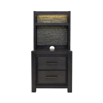 Roca Nightstand w/Pier Units