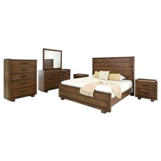 Aspen 6-Piece Queen Bedroom Set