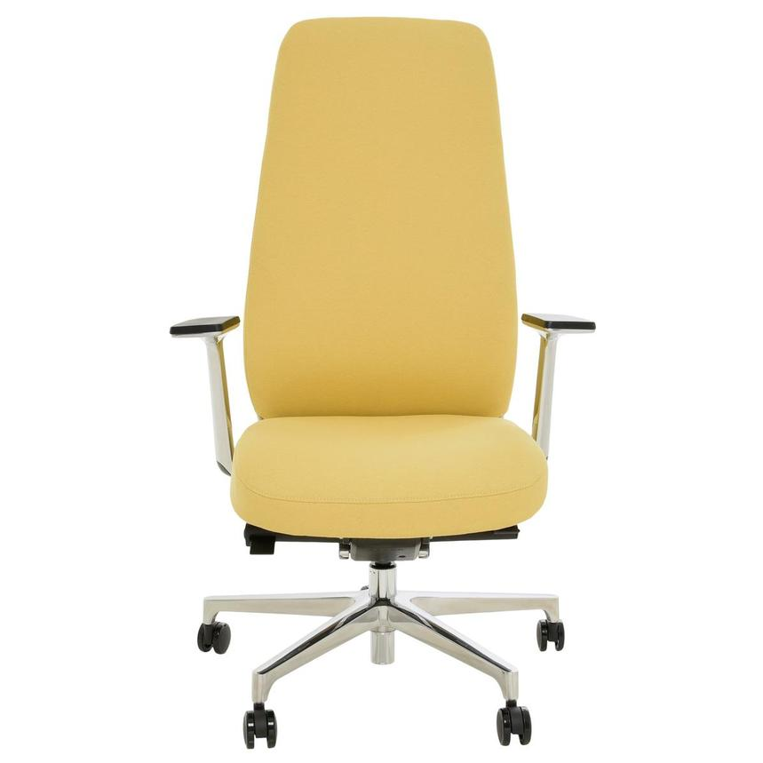 Pepe Yellow High Back Desk Chair  alternate image, 2 of 10 images.