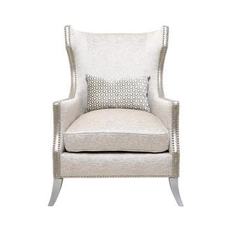 Paige Cream Accent Chair