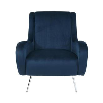 Morgan II Blue Accent Chair