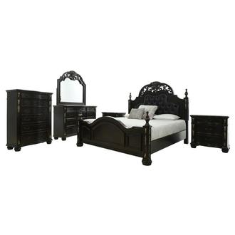 Max 6-Piece King Bedroom Set