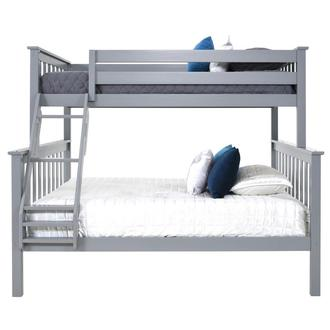 Ayden Gray Twin Over Full Bunk Bed