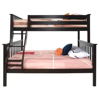 Ayden Espresso Twin Over Full Bunk Bed