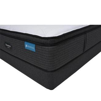 Harmony Maui- Plush Full Mattress w/Low Foundation Beautyrest by Simmons