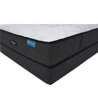 Harmony Cayman-Extra Firm King Mattress w/Regular Foundation Beautyrest by Simmons