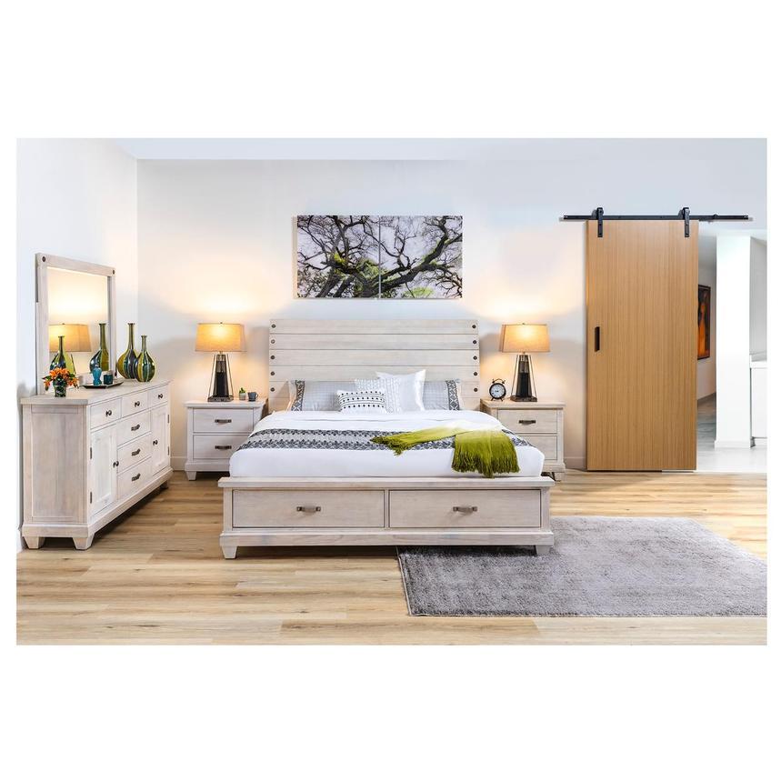 Hamilton White 10-Piece Queen Bedroom Set
