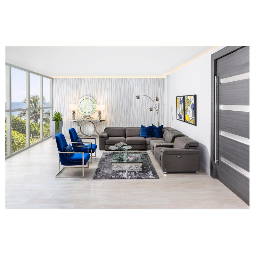 Dimitra Blue Accent Chair El Dorado, Blue Accent Chairs For Living Room